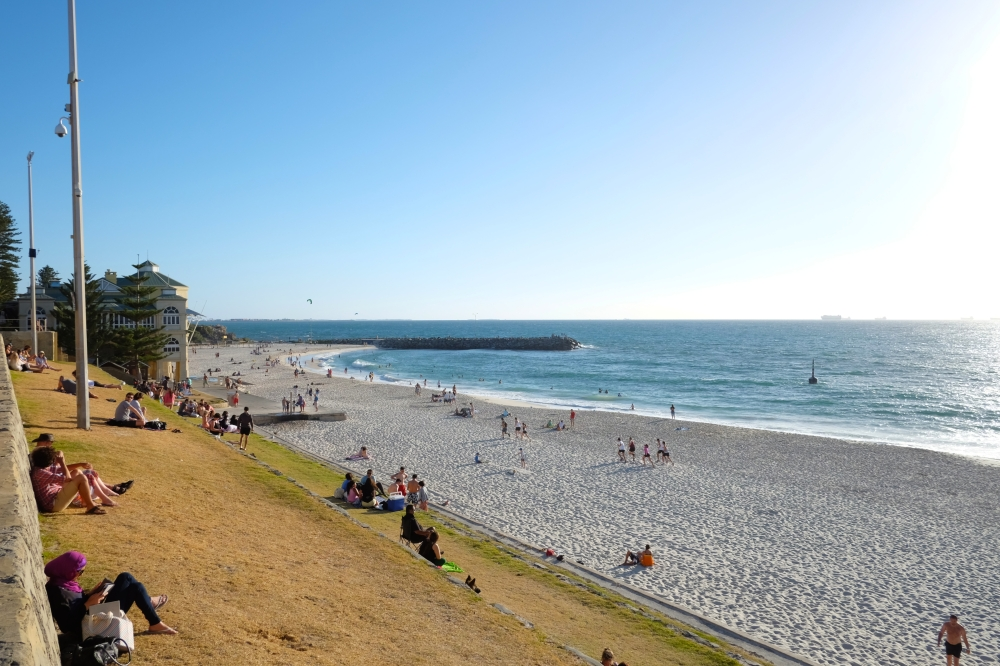 Cottesloe Beach. Yes, it really is that gorgeous nearly every day.