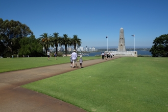 Centograph at the State War Memorial, Kings Park.